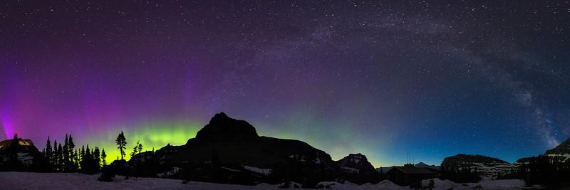 Milky Way & Northern Lights