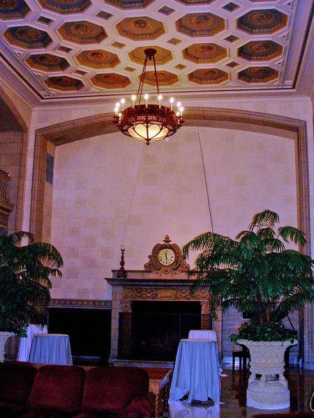 Athletic Club lobby. Ellerbe Associates, architects.
