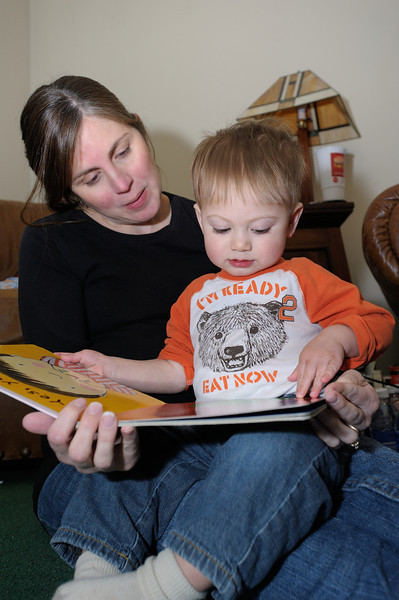 4/28/12 Micah and Mommy reading