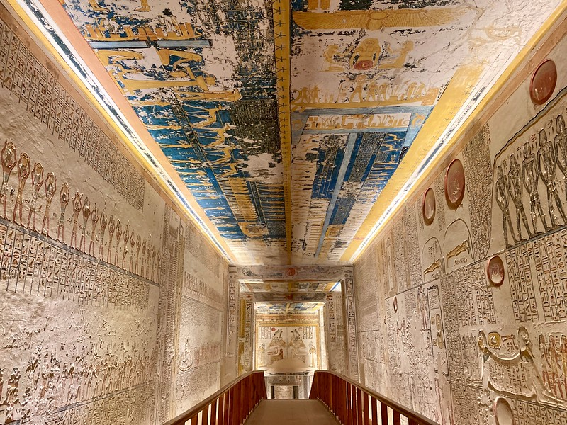 Tomb of Ramses VI- reigned in the mid 12th century BC