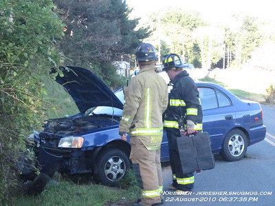 Schuylkill County - East Union Twp. - MVA w/ injury and flyout - 8/22/2010