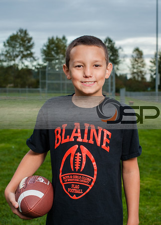 2014 Blaine Flag Football - Akre / Dwight