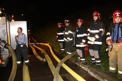 Fire Hose Testing, American Hose Company, High School, Tamaqua (11-15-2011)