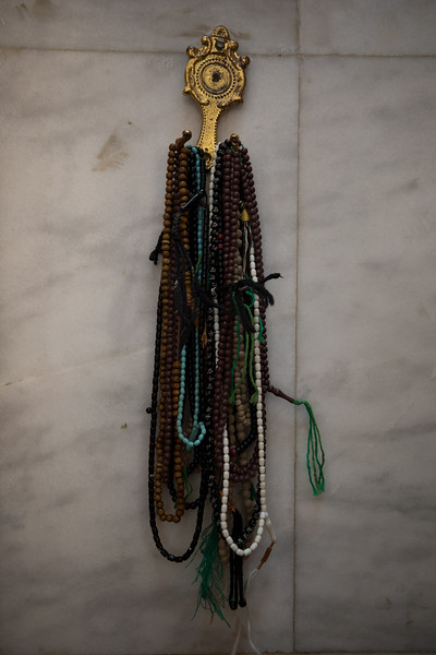 Prayer beads at Imam Ali Mosque, Basr.