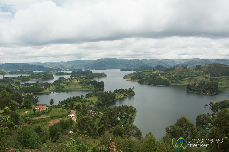 Lake Bunyonyi from Above - Uganda
