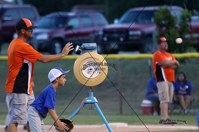 2015 Machine Pitch Baseball vs Blanco