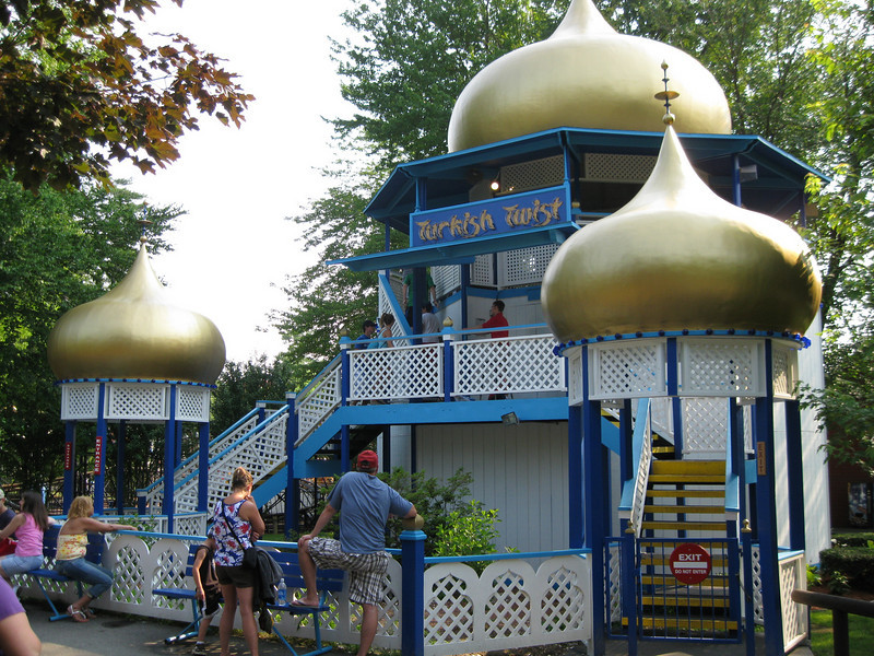 Turkish Twist was repainted blue, white, and gold.