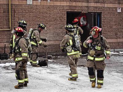 December 25, 2010 - Working Fire - 1221 Markham Rd.