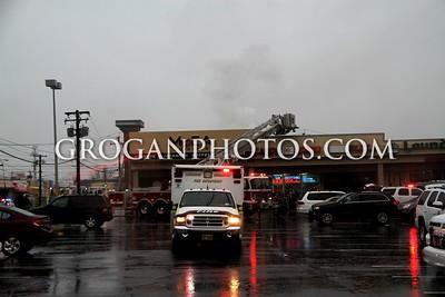 Burnside Ave Building Fire 1/18/15