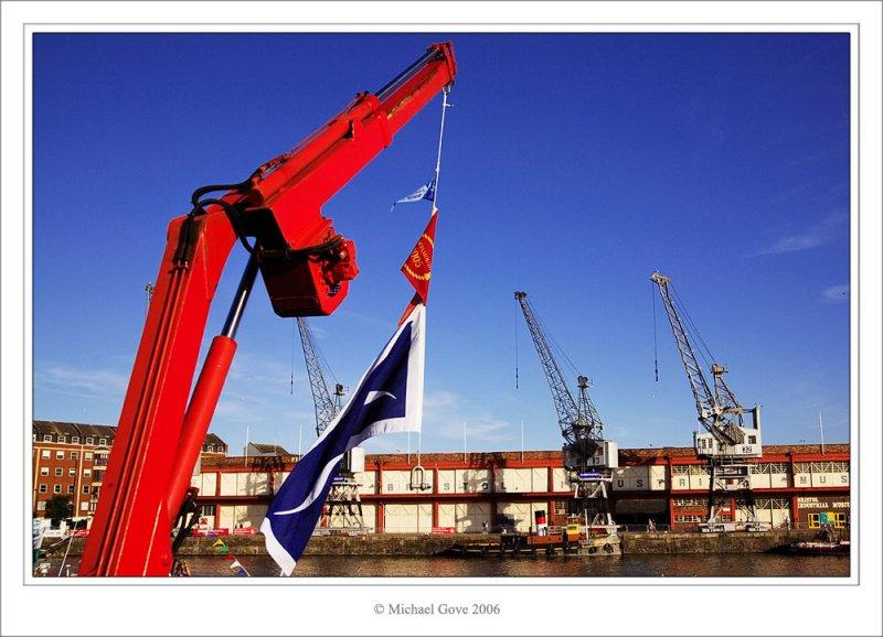 The Big Red Crane - Bristol docks (68882399).jpg