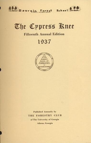 1937 Cypress Knee