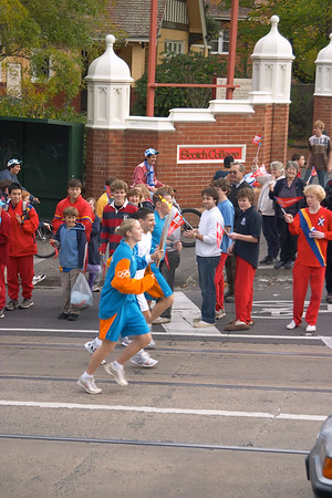 Olympic Torch 05/06/2004