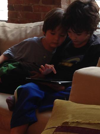 Dylan & Skylar--January 2014
