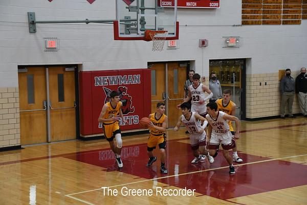 Boys Basketball at Newman