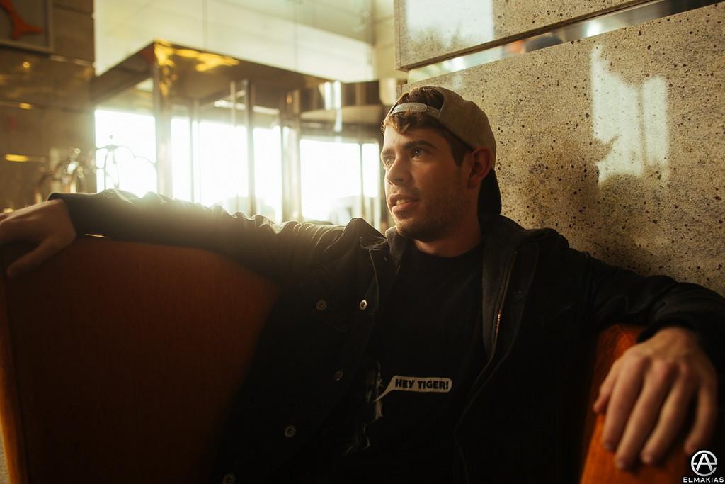 Lobby mornings with Alex Shelnutt of A Day To Remember by Adam Elmakias