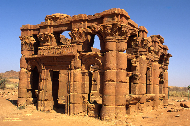 Tempel von Naga, Sudan