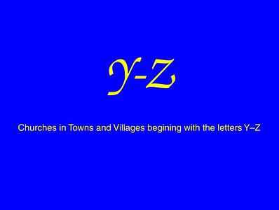 Y–Z Churches