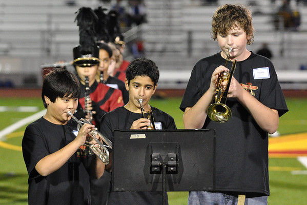 Middle Schoolers Join the Band - 9/24/10