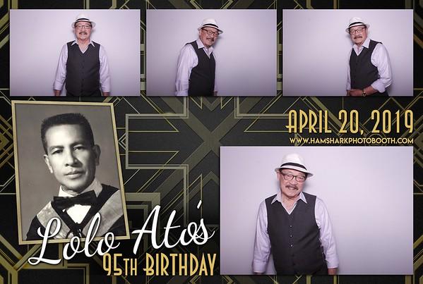 Lolo Ato's 95th Birthday