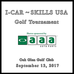 I-CAR ~ SKILLS USA Golf Tournament Sept. 13, 2017