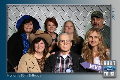 Harlan's 80th Birthday Party