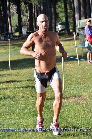 Donner Lake Sprint Triathlon 2013 Finish