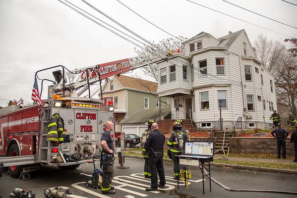 Clifton NJ 2nd Alarm, 143 W. 1st St. 12-17-15