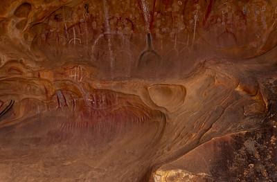 Aboriginal Art, Arkaroo Rock, Sacred Canyon 2965