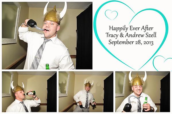 Tracy & Andrew Wedding PhotoBooth