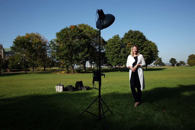 Minster of Heritage Melanie Joly pose for a portrait in Ottawa.