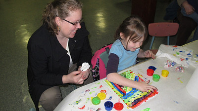Kids Varied Arts and Craft Class, Tamaqua Community Arts Center, Tamaqua (3-27-2014)