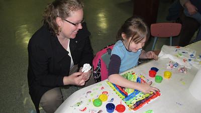 Kids Varied Arts and Craft Class, Tamaqua Community Arts Center, Tamaqua (3-27-2014)