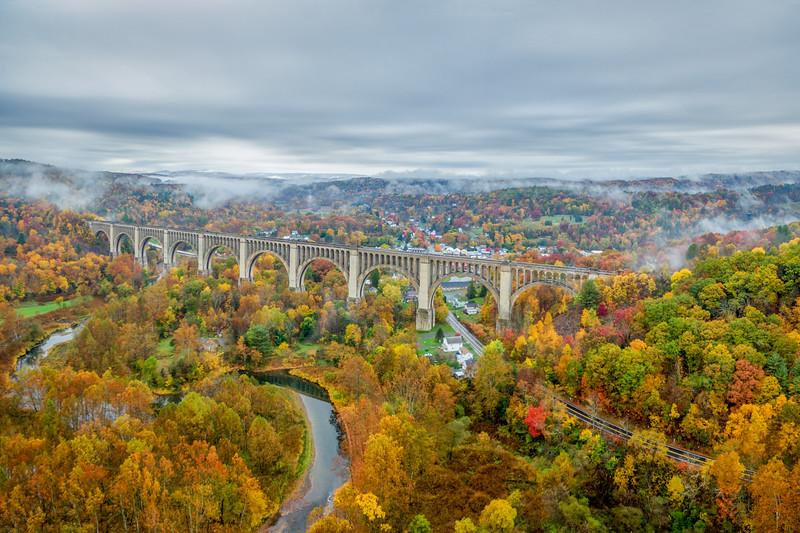 Tankhanncok Viaduct Fall Foliage