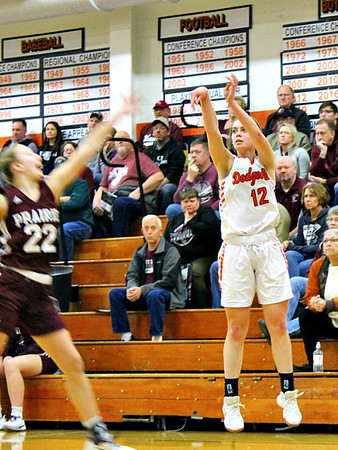 Prairie @ Dodgeville Girls Basketball 2-8-20