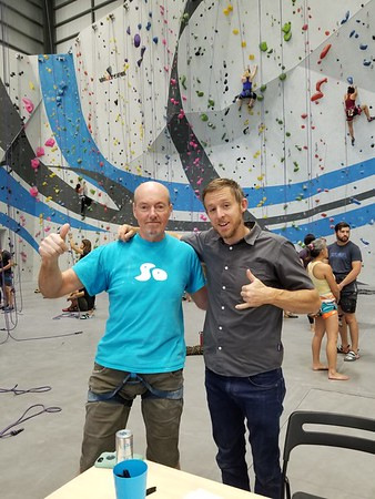 Tommy Caldwell Slide show at SenderOne LAX - Sept 15 2018