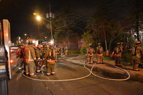 May 18, 2013 - 2nd Alarm - 702 Sheppard Ave. W.