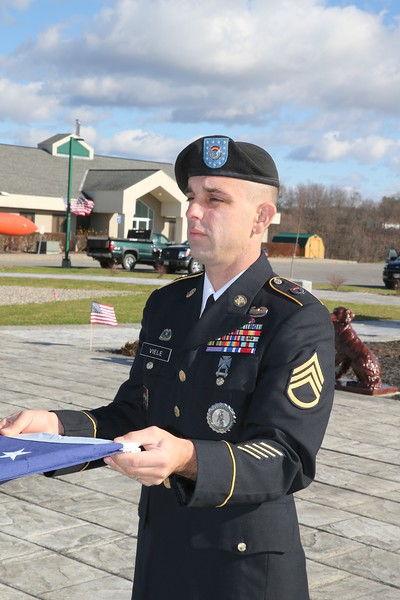 Town of Florida Memorial Park  Veterans Day Service 11-8-2015