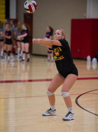 2016-08-24 Chaparral Varsity Volleyball Scrimmage