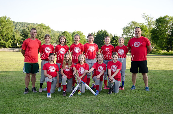 Major Softball • Maskots
