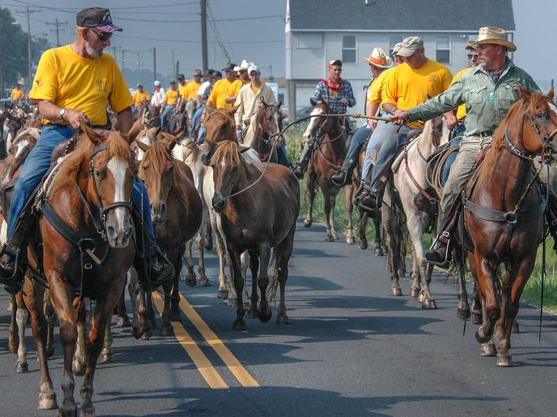 Chincoteague Island Pony Swim Parade #3