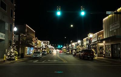 Main Street Laurinburg Christmas 2019
