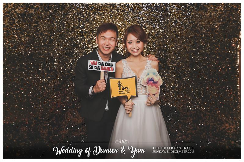 Wedding of Damien & Yam | © www.SRSLYPhotobooth.sg