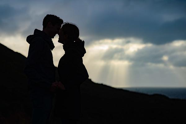 Grace and Luke Proposal @ Garrapata State Park, Carmel / Big Sur