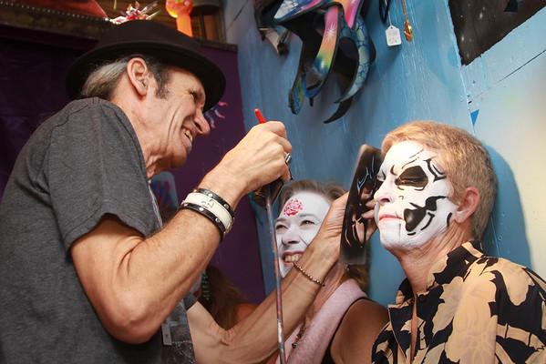 Facepainted Artists...Last Day Fun!
