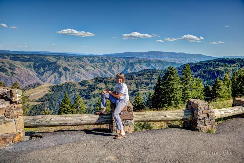 Hells Canyon Overlook, Oregon