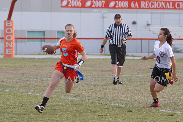 Boone Varsity Flag Football - 2011 #5