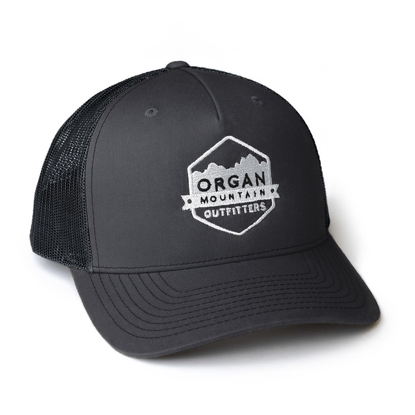 Organ Mountain Outfitters - Outdoor Apparel - Hat - Snapback Trucker Cap - Charcoal Black.jpg