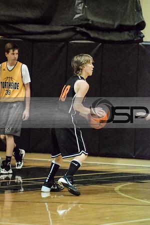 2014-6-8 Blaine HS at Meridian - Summer League Basketball