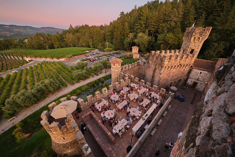 Patron Dinner at Castello di Amorosa