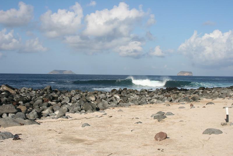2007-02-20-0025-Galapagos with Hahns-Day 4, Floreana-Darwins Daphne Major and Daphne Minor.JPG